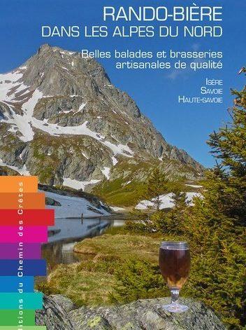 Co-auteur de l'ouvrage « Rando Bière dans les Alpes du Nord »